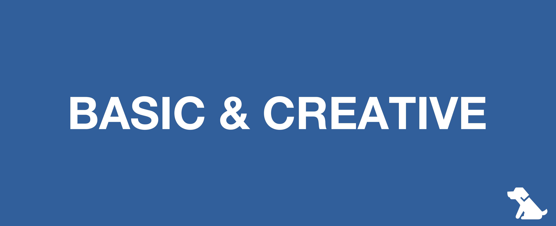 BASIC & CREATIVE